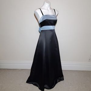 Scott McClintock Black & Blue Gown